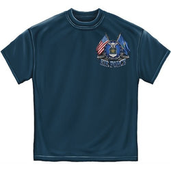 Air Force Double Flag Eagle Mens T-Shirt - The Flag Shirt