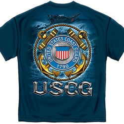 USCG Coast Guard Mens T-Shirt