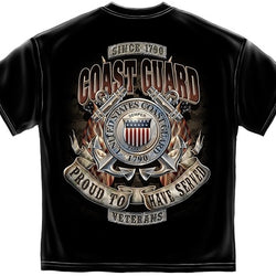 Coast Guard Proud to Have Served Mens T-Shirt