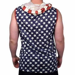 Mens Muscle Tank all over star print