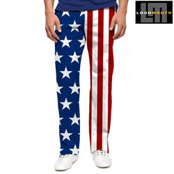 American Flag Pants For Golf