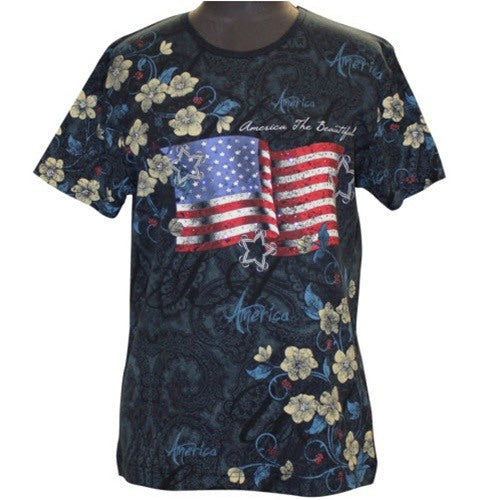 America The Beautiful AMEFLO - Morning Sun - The Flag Shirt