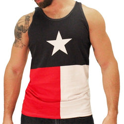 Mens Texas Tank Top - The Flag Shirt