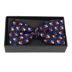 Texas Flag Banded Bow Tie - The Flag Shirt