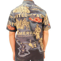 USA Liberty and Justice Button Down - The Flag Shirt