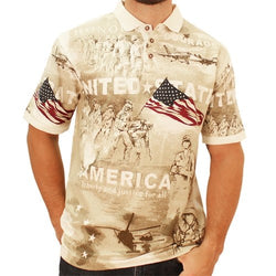 Norman Flag Mens Polo Shirt - The Flag Shirt
