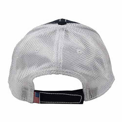 USA Oil Skin Mesh Navy Cap