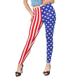 American Flag Leggings - Stripes and Stars - theflagshirt