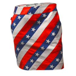 Ladies Pars and Stripes Skort - The Flag Shirt