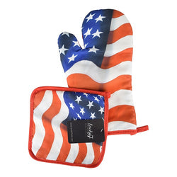 USA Flag Mit and Holder - The Flag Shirt