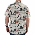 Load image into Gallery viewer, Short Sleeve Button Down Woven-Dune