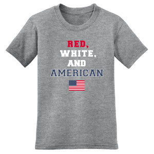 Red White and America Mens T-Shirt - theflagshirt