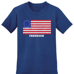 Freedom Flag Short Sleeve Tee - theflagshirt
