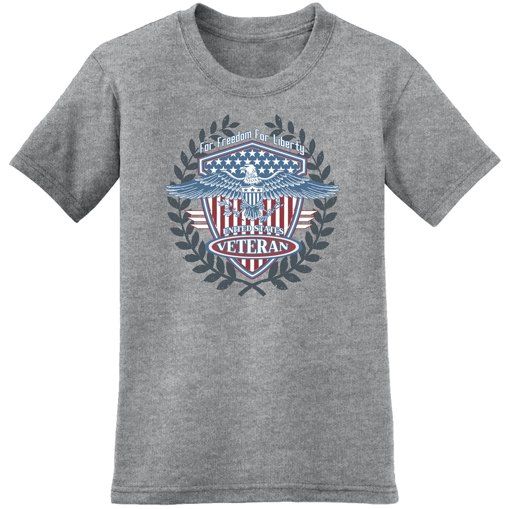 for freedom for liberty united states veteran tee - the flag shirt