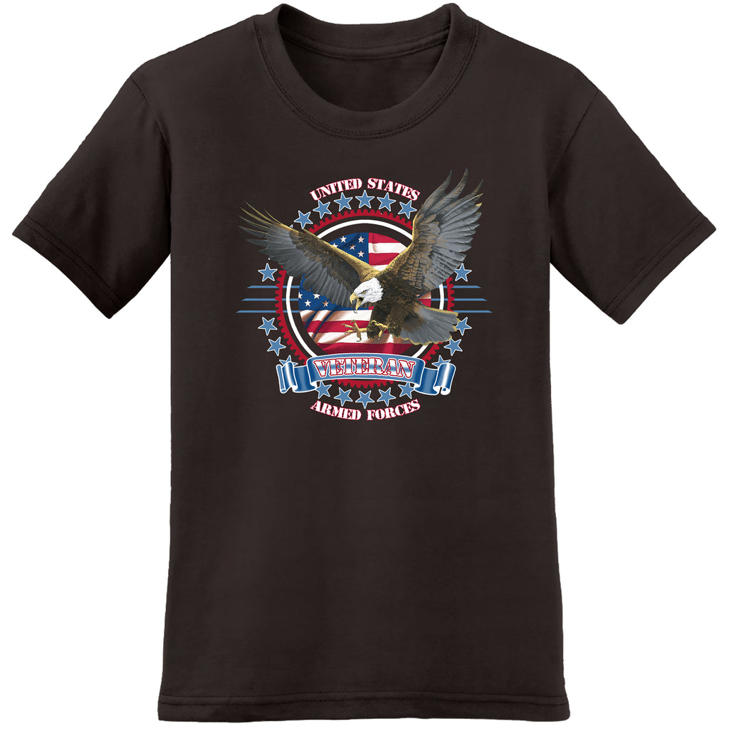 united states armed forces veterans tee - the flag shirt