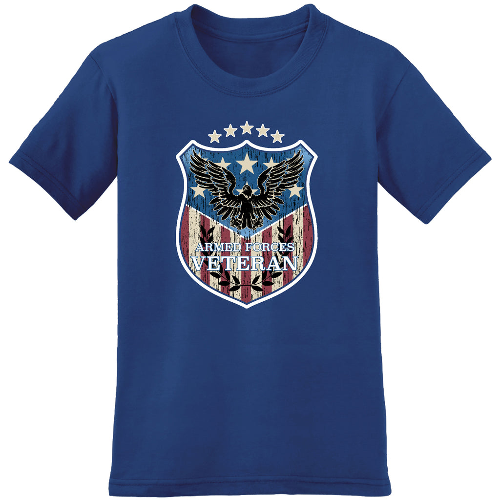 usa armed forces veteran - the flag shirt