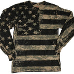 Load image into Gallery viewer, RCO - Digital Camo Long Sleeve Flag Tshirt - The Flag Shirt