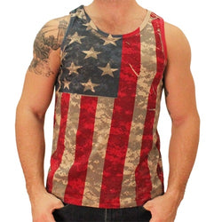 Camo American Flag Mens Tank Top - The Flag Shirt