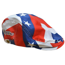 American Pars and Stripes Golf Hat - The Flag Shirt