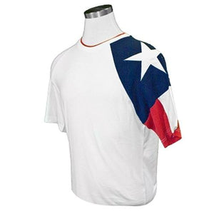 Texas Adult T Shirt in White - The Flag Shirt
