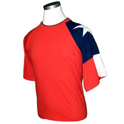 Texas Adult T Shirt in Red - The Flag Shirt
