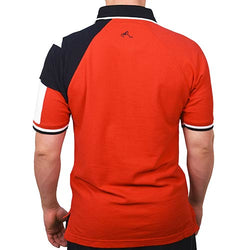 Mens Texas Original Pique Polo in Red