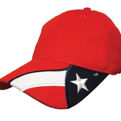 Texas Stretch Fit Hat - Red - The Flag Shirt