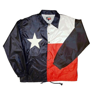 Texas Flag Chill Windbreaker - theflagshirt