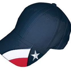 Embroidered Texas Original Hat -Navy - The Flag Shirt