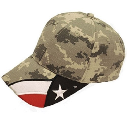 Digital Camo Texas Flag Original Hat - The Flag Shirt