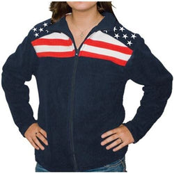 Freedom Lady Fleece Warmer - The Flag Shirt
