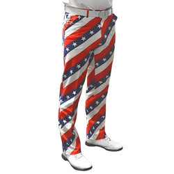 American Flag Mens Golf Pants - The Flag Shirt