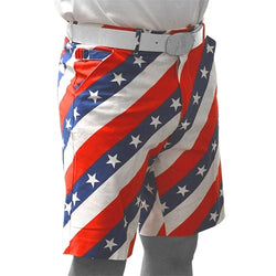 American Flag Mens Golf Shorts - The Flag Shirt