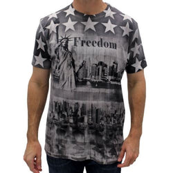 Statue of Liberty Mens T-Shirt - The Flag Shirt