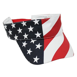 Stars and Stripes Flag Visor - The Flag Shirt