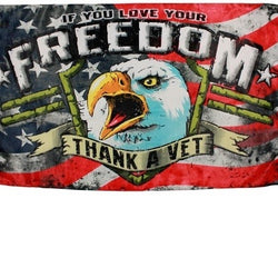 Thank A Veteran Flag - The Flag Shirt