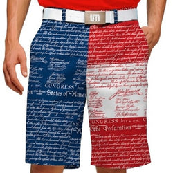 Declaration of Independence Stretch Mens Short