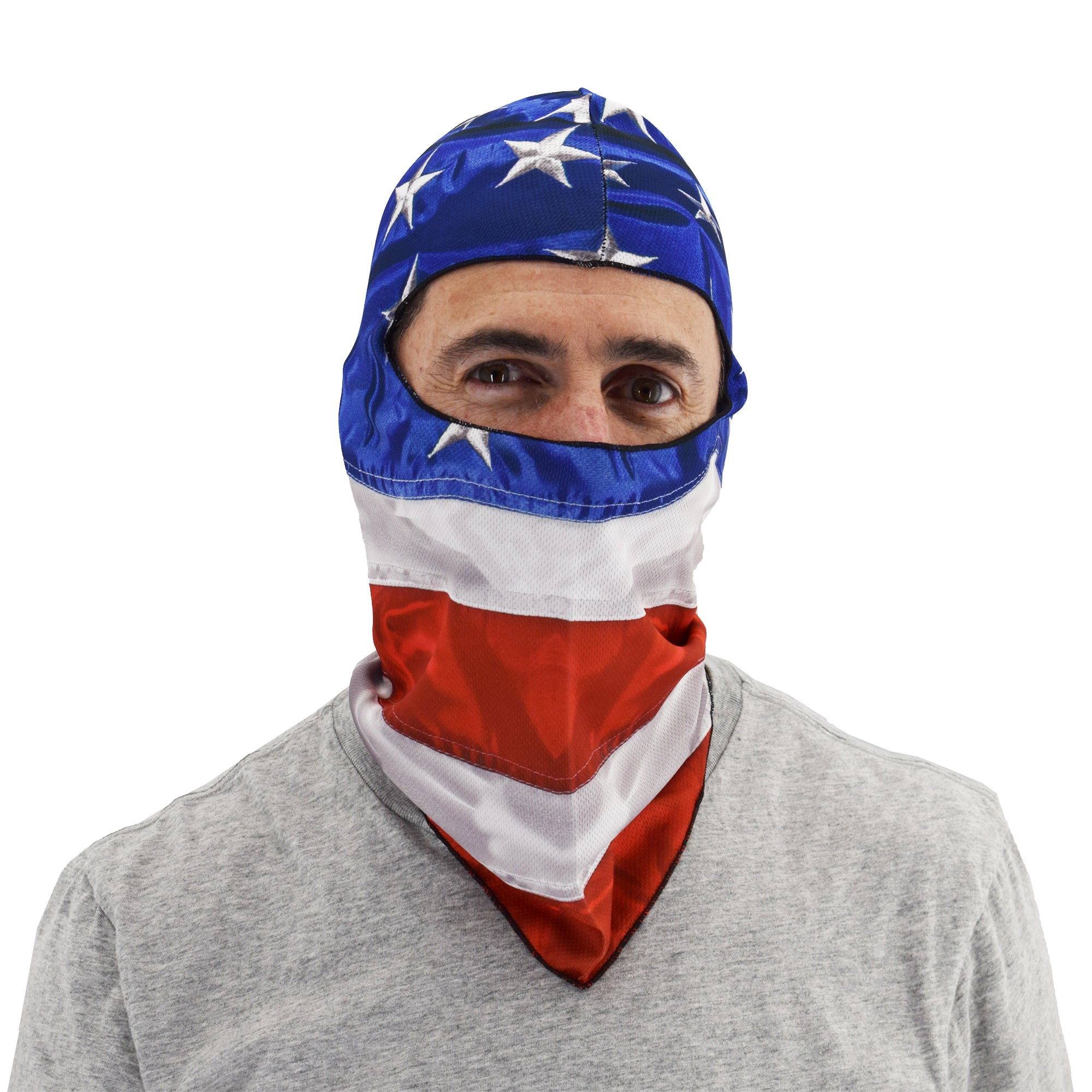 usa flag stars and stripes face mask - the flag shirt