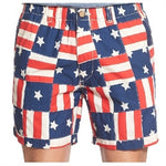 Vintage USA Flag Snappers Shorts