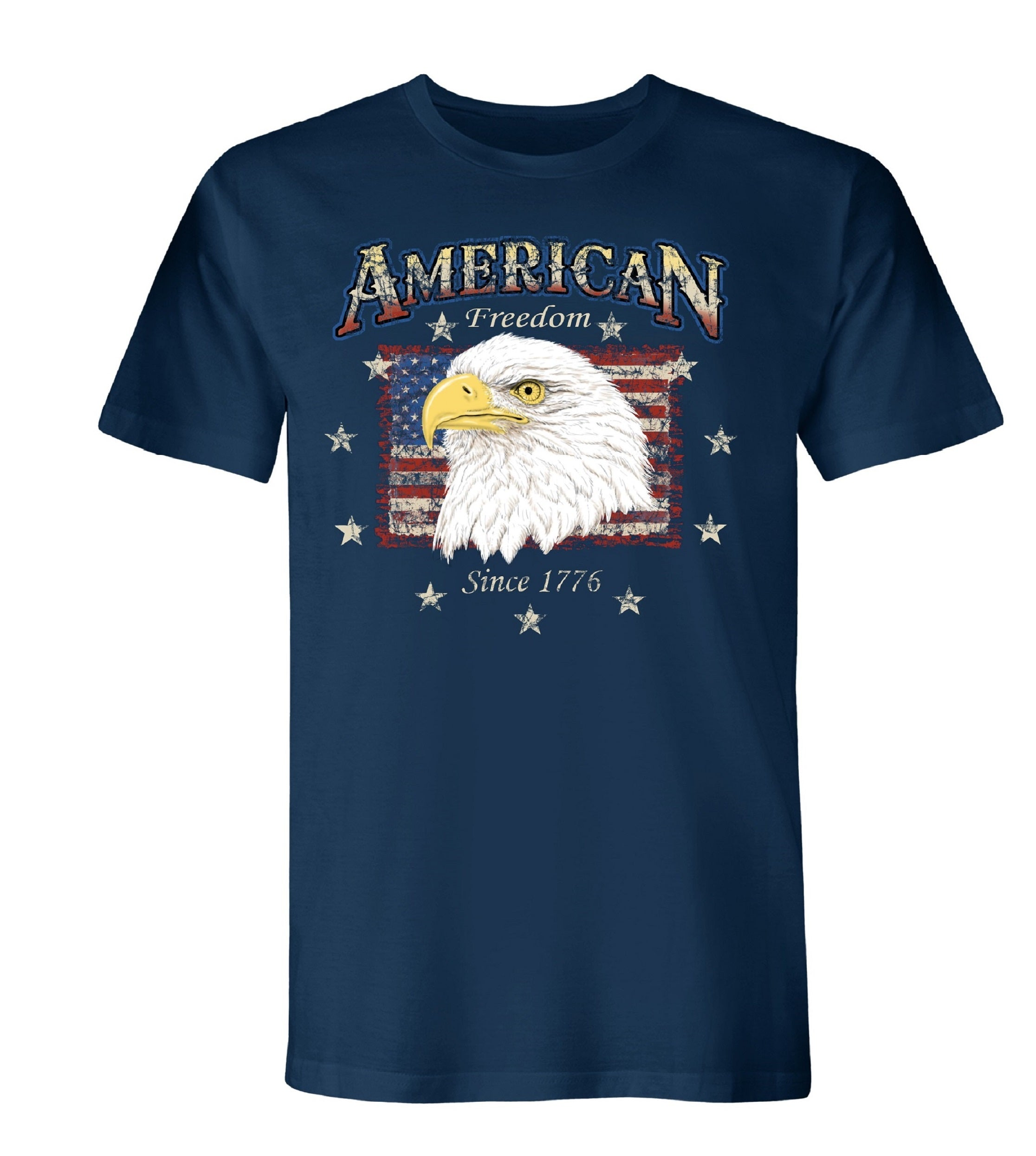Eagle Portrait Made in America Short Sleeve Tee
