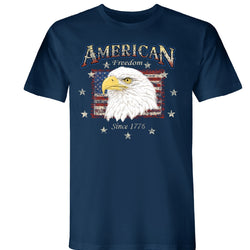 Eagle Portrait American Made Short Sleeve Tee - theflagshirt