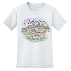Hometown Fourth of July Picnic Women's T-Shirt - theflagshirt