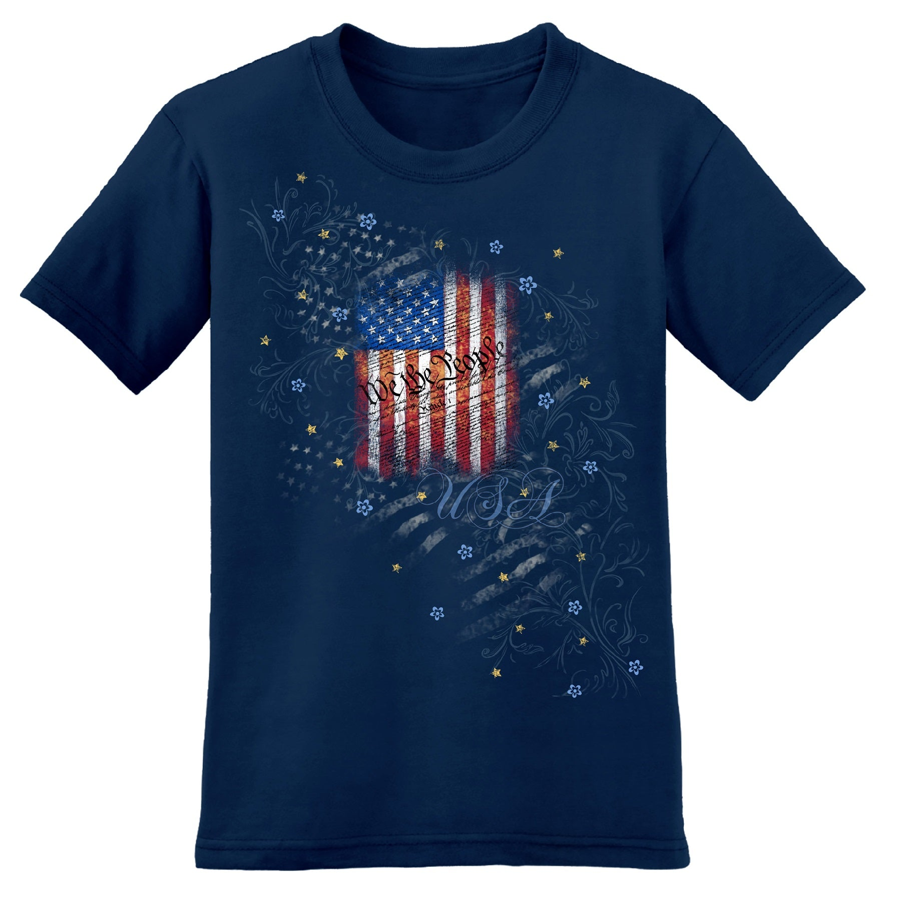 We the People Womens T-Shirt - theflagshirt