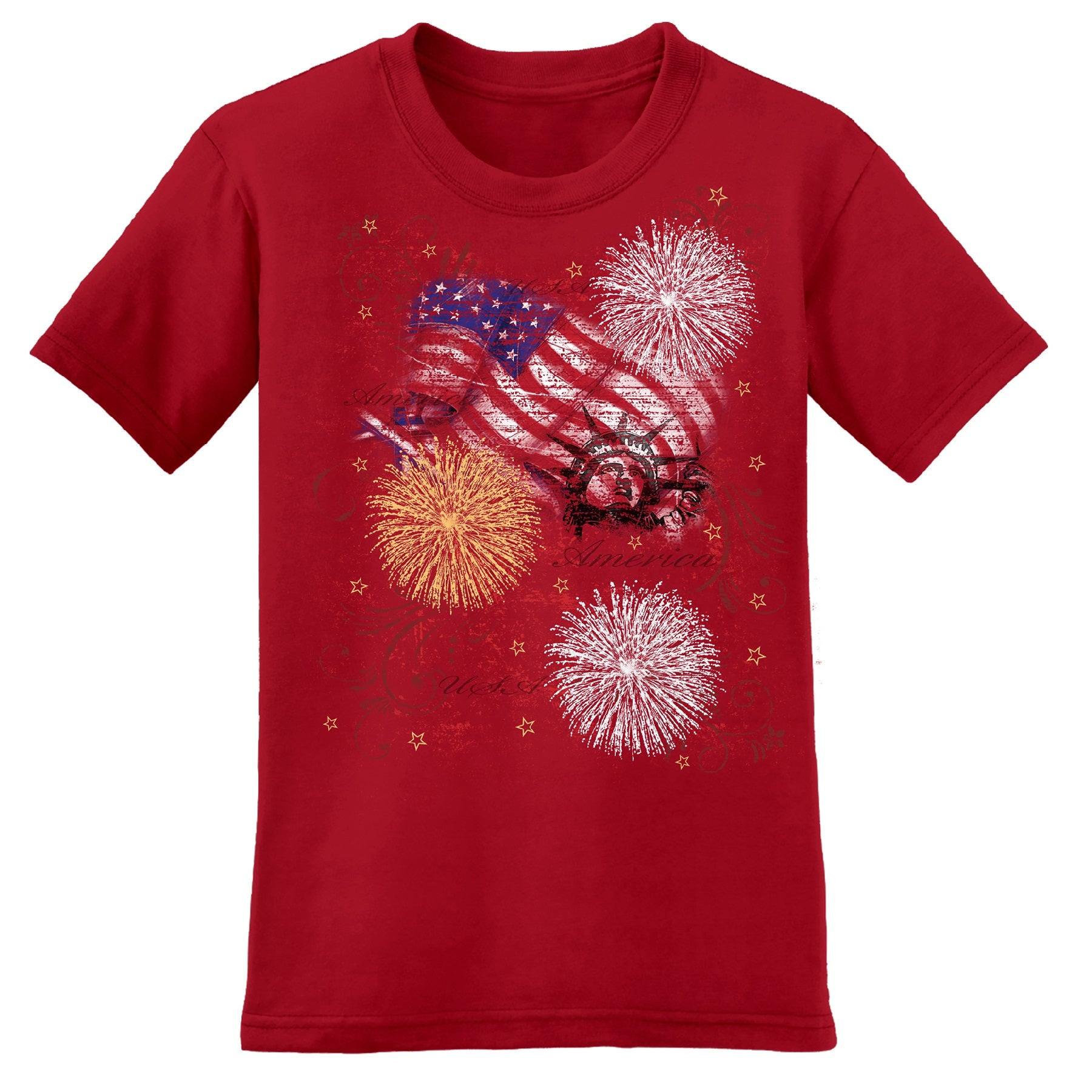 Patriotic Burst Women's T-Shirt