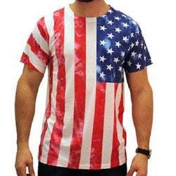Mens Sublimated Flag Tee - The Flag Shirt