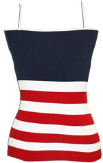 Load image into Gallery viewer, Juniors American Flag Cami - The Flag Shirt