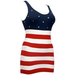 Juniors American Flag Tank Top - The Flag Shirt