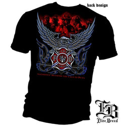 Firefighter Eagle Sacrifice T-Shirt