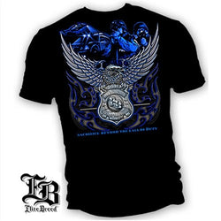 Elite Breed Law Enforcement Sacrifice Mens T-Shirt