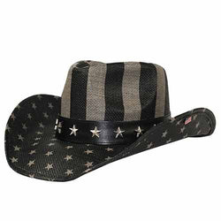 American Flag Toyo Cowboy Hat - The Flag Shirt
